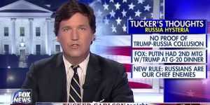 Tucker Carlson SLAMS Dems for Double Standard On Russia